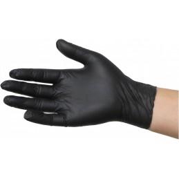 Guante desechable nitrilo negro