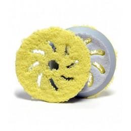 """Pad microfibra amarilla 4"""" - Acabado"""
