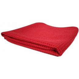 Window Red Towel